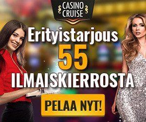 Casino Cruise 55 ilmaiskierrosta