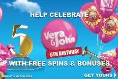 Vera and John 5 vuotta