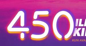 iGame Casino - 450 ilmaiskierrosta