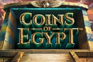 Coins of Egypt - NetEnt